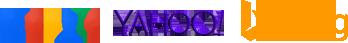 Google® Yahoo!® and Bing®