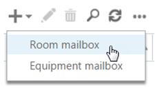 Click Room mailbox