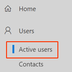 Users and Active users